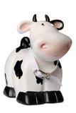 Casella di moneta della mucca Immagine Stock Libera da Diritti