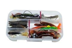 Casella di pesca Fotografia Stock