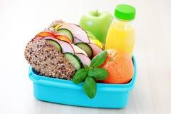 Casella di pranzo immagini stock