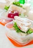Casella di pranzo Fotografia Stock