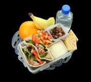 Casella di pranzo dei bambini in buona salute Fotografia Stock