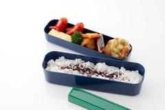 Casella di pranzo giapponese fotografie stock libere da diritti