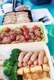 Casella di pranzo giapponese Immagini Stock Libere da Diritti