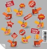 Casella di prezzi illustrazione di stock