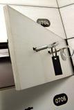 Casella di sicurezza fotografie stock libere da diritti