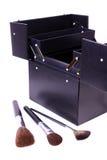 Casella di trucco Fotografia Stock