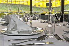 Casella di VIP dello stadio dell'arena di PGE Fotografia Stock