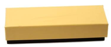 Casella elegante del Brown Immagine Stock