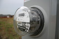 Casella elettrica Fotografie Stock