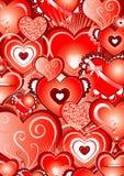 Casella a forma di del cuore Immagine Stock