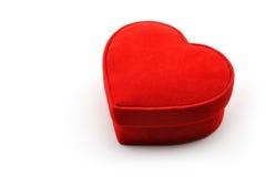 Casella a forma di I del cuore Fotografia Stock Libera da Diritti