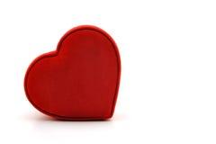 Casella a forma di II del cuore Fotografia Stock