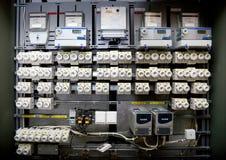 Casella industriale dell'interruttore Fotografie Stock