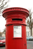 Casella postale britannica Immagini Stock