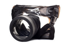 Casella subacquea per la macchina fotografica Fotografie Stock