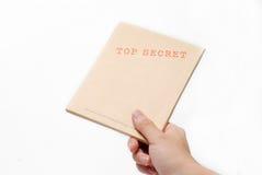Casella top-secret Immagini Stock
