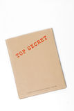 Casella top-secret Fotografia Stock