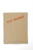 Casella top-secret Fotografia Stock Libera da Diritti