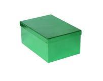 Casella verde Immagine Stock