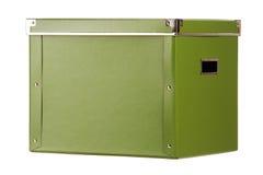 Casella verde fotografia stock libera da diritti