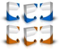 Casella virtuale Fotografia Stock Libera da Diritti