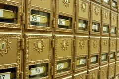 Caselle 1 della posta Fotografia Stock