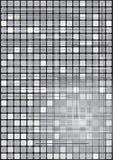 Caselle in bianco e nero Fotografia Stock