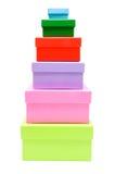 Caselle colorate Immagini Stock Libere da Diritti