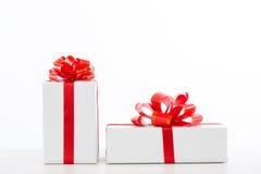 Caselle con i regali Immagine Stock