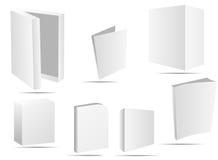 Caselle del software Fotografie Stock