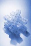 Caselle della pillola Immagini Stock