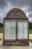 Caselle della posta in sobborghi Immagine Stock Libera da Diritti