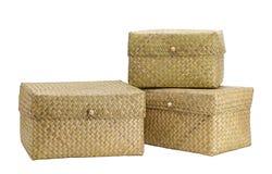 Caselle di bambù Fotografia Stock