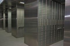 Caselle di deposito di sicurezza Immagine Stock Libera da Diritti