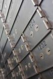Caselle di deposito di sicurezza Fotografia Stock Libera da Diritti