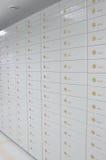 Caselle di deposito sicuro Fotografia Stock Libera da Diritti