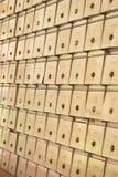 Caselle di lettera Fotografie Stock