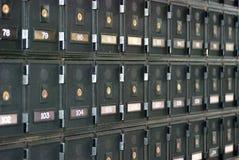 Caselle di PO Immagine Stock