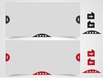 Caselle di proiezione di diapositive con il cursore Fotografia Stock