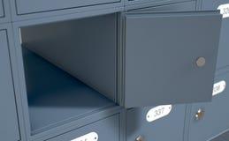 Caselle di ufficio postale Immagine Stock