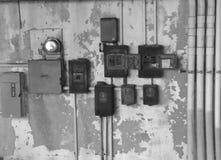 Caselle elettriche Immagini Stock