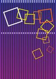 Caselle quadrate variopinte Immagine Stock Libera da Diritti
