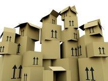 Caselle vuote illustrazione vettoriale