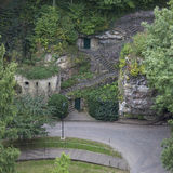 Casemates de la Petrusse. Luxembourg City Royalty Free Stock Photos