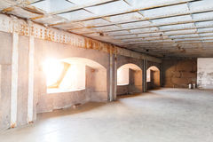 Casemates in Fort Konstantin battery. In the Gulf of Finland Stock Photography