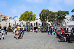 Casemates square Royalty Free Stock Images