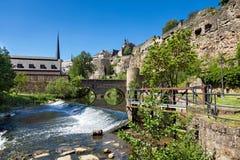 Casemates van Luxemburg Royalty-vrije Stock Fotografie