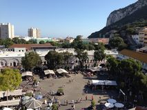 Casemates. View from above Stock Image