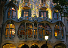 Casen Batlló. Barcelona. Spanien Stockfotos