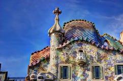 Casen Battlo, Barcelona stockbilder